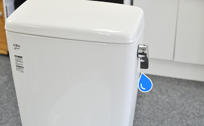 トイレタンク 水漏れ 修理方法